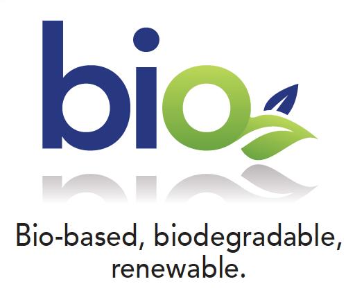 Bio-based, biodegradable, renewable